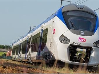 SNCF Burgundy/Franche-Comté train manufactured by Alstom.