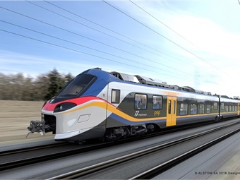 Coradia Stream can be easily customized to different services. Interior layouts and seating arrangements can be modified, to provide for example, more seats for longer journeys, or fewer seats and more standing room for shorter trips. Alstom SA Design&Styling
