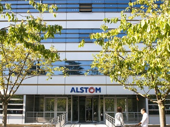 Alstom headquarters in Saint Ouen, France.