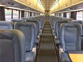 Amtrak has completed an extensive refresh of its train interiors on the entire Acela fleet, which travels along the Northeast Corridor (NEC) between Boston and Washington, D.C.