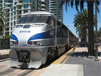 Due to the limited transportation options, Pacific Surfliner trains have been extremely busy, with demand exceeding available seating capacity.Doug Letterman