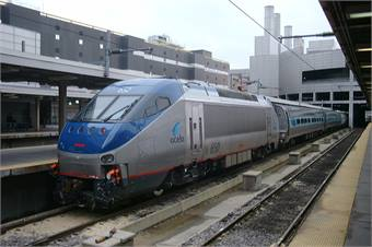 Amtrak is seeking up to 28 high-speed trainsets that can meet or exceed current Acela Express trip times on the existing NEC infrastructure. Photo courtesy Peter Van den Bossche, Wikimedia Commons