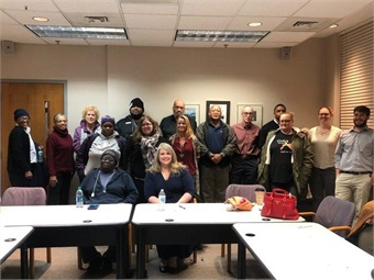 Focus Group at the Ann Arbor Area Transportation Authority in Ann Arbor, Michigan. Photo: Feonix Mobility Rising