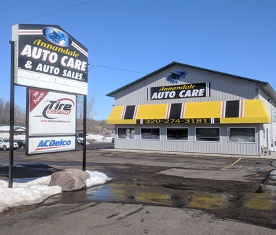 Annandale Auto Care Owner Scott Heinecke says tires represent 25% of overall sales from his five-bay, four-technician shop. He relies on Tire Solutions to provide 80% of the tires he sells, including his primary brand, Toyo.