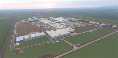 Apollo's consumer and commercial tire plant in Budapest, Hungary, its second in Europe and sixth worldwide, is located on 178 acres.