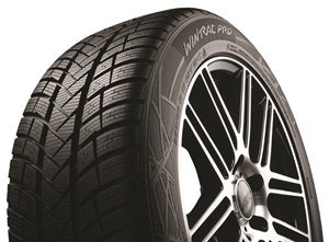 Available in 88 sizes, Apollo's Vredestein Wintrac Pro ultra-high performance tire was ranked first in recent tire tests by a European automotive magazine.