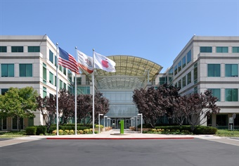 Apple's headquarters in Cupertino, Calif. Photo via Joe Ravi/Wikimedia