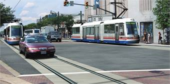 Rendering of proposed streetcar project.