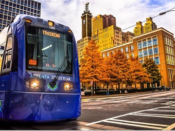 The Metropolitan Atlanta Rapid Transit Authority will assume ownership and day-to-day operations of the Atlanta Streetcar from the City of Atlanta on July 1. Photo: MARTA