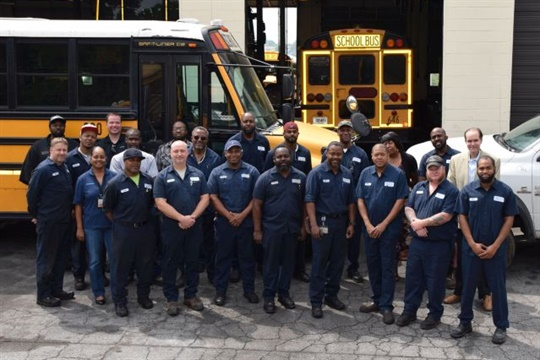 Atlanta Public Schools recruited new technicians and fleet managers with a variety of mechanical backgrounds, which has fostered better group problem solving.
