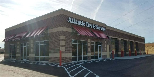 Atlantic Tire & Service has built a new store in Wake Forest. The 7,182-square-foot outlet is the dealership's fourth in North Carolina.