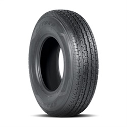 The Atturo ST200 tire is rated for speeds up to 75 mph.