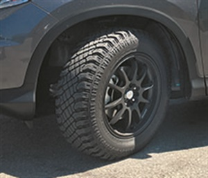 CUV tires, like the Atturo Trail Blade X/T should be built for the vehicle's higher center of gravity and short wheel base.