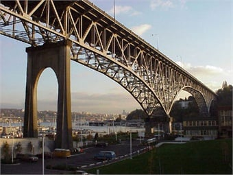 Aurora Bridge photo courtesy WSDOT