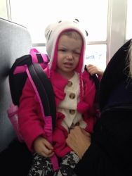 Ava rode a Metropolitan School District of Decatur Township bus.