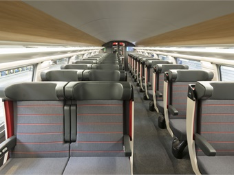 The Avelia Euroduplex trains have higher capacity, with 556 seats compared to 509 for previous generations. Alstom