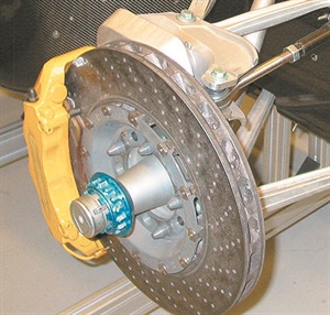 """Some high performance rotors employed by an OEM can feature an exotic disc construction formula such as carbon fiber-infused material. The point is that not all rotors are simply made of """"cast iron."""""""