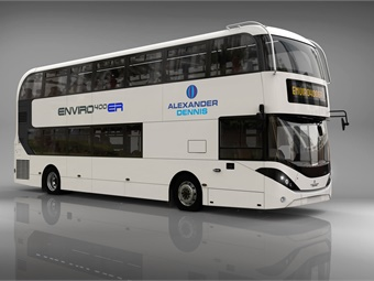 With Series-ER, the buses will be able to drive on clean electric power through designated low and zero emission zones.