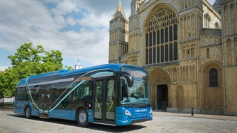 The benefits of electric buses come from reduced emissions and reduced cost of ownership over the long term.