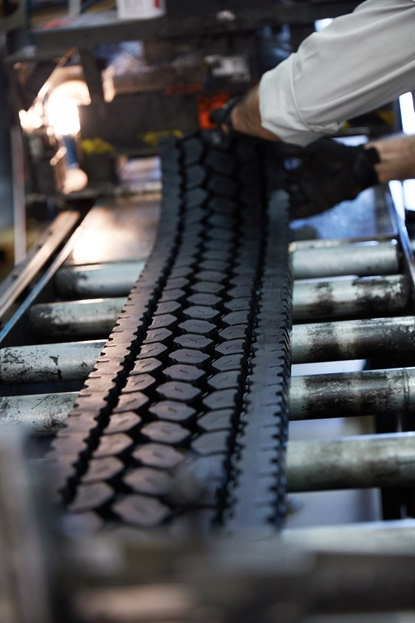After 60 years, Bridgestone says Bandag has kept an estimated 300 million tires out of the waste stream and saved up to four billion gallons of oil.