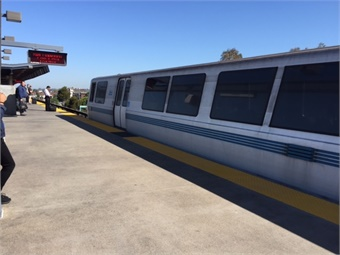 The Transbay Corridor Core Capacity project will implement capacity improvements for the BART heavy rail transit system between Oakland and Daly City in South San Francisco. Thi Dao