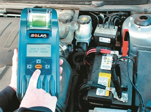 The Solar BA327 digital battery and system tester from Clore includes testing routines for start-stop AGM batteries, as well as standard AGM, spiral wound, gel cell and flooded batteries.