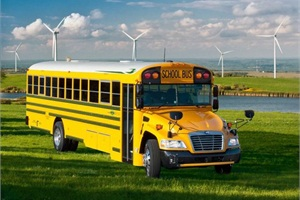 Fort Zumwalt School District recently purchased eight Blue Bird Propane-Powered Vision school buses, and district officials anticipate that they will save approximately $18,000 this school year.