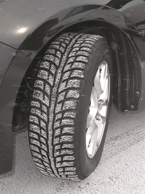 Features of the new BFGoodrich Winter T/A KSI include a serrated shoulder profile similar to the brand's All-Terrain T/A KO2 tire that helps the vehicle climb out of ruts on snowy roads.