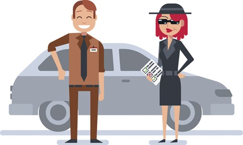 The crazy new guy meets customers at their vehicles when they pull into the parking lot — and it pays off!