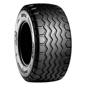 Designed for use on roads and in fields, the AW 711 radial tire is part of BKT's extensive lineup of tires for farm trailers.