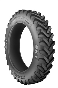 Agrimax Spargo row crop tire offers higher load capacity at standard inflation pressure.