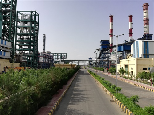 "BKT says the vertical integration of carbon black in its tire production process ""is hence another step forward in the development of the Bhuj production site."""