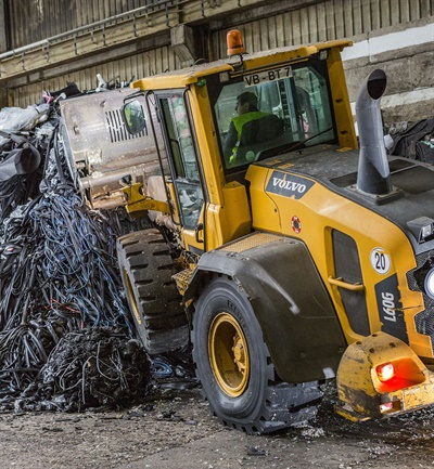 BKT offers a range of tires designed for recycling operations, including the new BK-Loader 53.