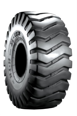 The XL Grip (L3) is a cross-ply tire engineered for loaders.