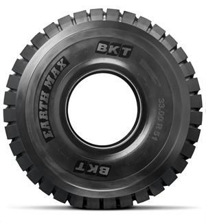The Earthmax SR 46 is BKT's largest ever tire: 33.00 R 51.