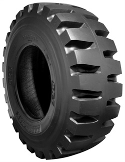 The Earthmax SR 53 is available in sizes 17.5 R 25, 20.5 R 25, 23.5 R 25, 26.5 R 25 and 29.5 R 25.