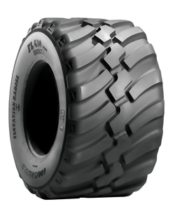 The FL 630 Plus tread pattern is designed to provide excellent self-cleaning properties.