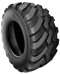 BKT says the design of the FL 630 Ultra has been modified for more lugs, a reinforced bead area and a special tread pattern to grip on all kinds of soil.