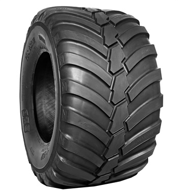 BKT will display the new FL 637 flotation tire for spreaders, trailers and tank trucks in size 520/50 R 17 at Agritechnica.