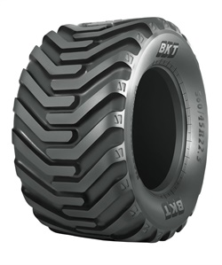 The FL 639 has a a wide footprint to protects the soil from compaction.