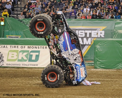 """BKT says its sponsorship of Monster Jam has contributed """"significantly to enhance brand recognition at the international level."""""""