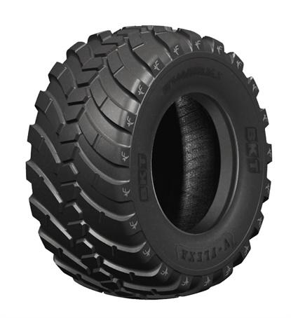 BKT is taking its V-Flexa farm tire to Agritechnica 2019.