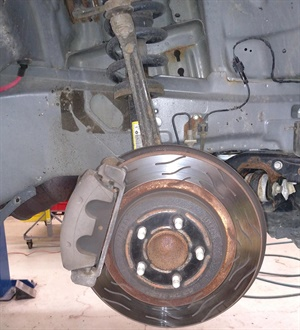 Original equipment or aftermarket brake rotors may feature slots that are intended to help clean the pads and evacuate pressure gases. Especially for emergency vehicle applications such as police vehicles, when rotors are replaced, rotors and pads must provide the same type of performance in order to maintain superior braking.