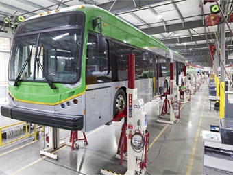 Stertil-Koni Mobile Column Lifts support the BYD manufacturing process. Stertil-Koni/BYD