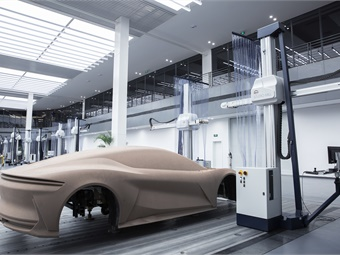 A single clay model area of more than 6,000 square meters helps designers review new car models at different distances, heights and angles, enabling final production cars to more closely reflect the beauty of design.