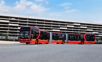 BYD launches the world's longest pure electric bus - the 88-foot K12A.
