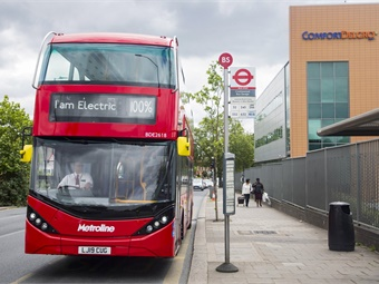 The figures for the double-deck buses include significant fleet deals with some of the UK's major bus operators including Metroline, Stagecoach, National Express, and RATP Dev London.
