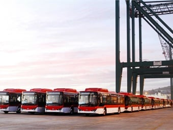 With the arrival of the new electric buses, about 6% of the capital's fleet is now electrified and emissions-free.BYD