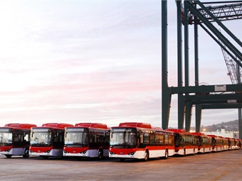 With the arrival of the new electric buses, about 6% of the capital's fleet is now electrified and emissions-free. BYD