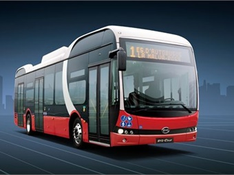 BYD is further expanding its footprint in Europe by confirming an order for 27 of its 40-foot all-electric buses for use in Copenhagen. Photo: BYD